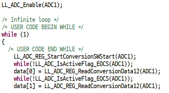 STM32F4 ADC LL 드라이버 코드 작성하기 – DKMIN